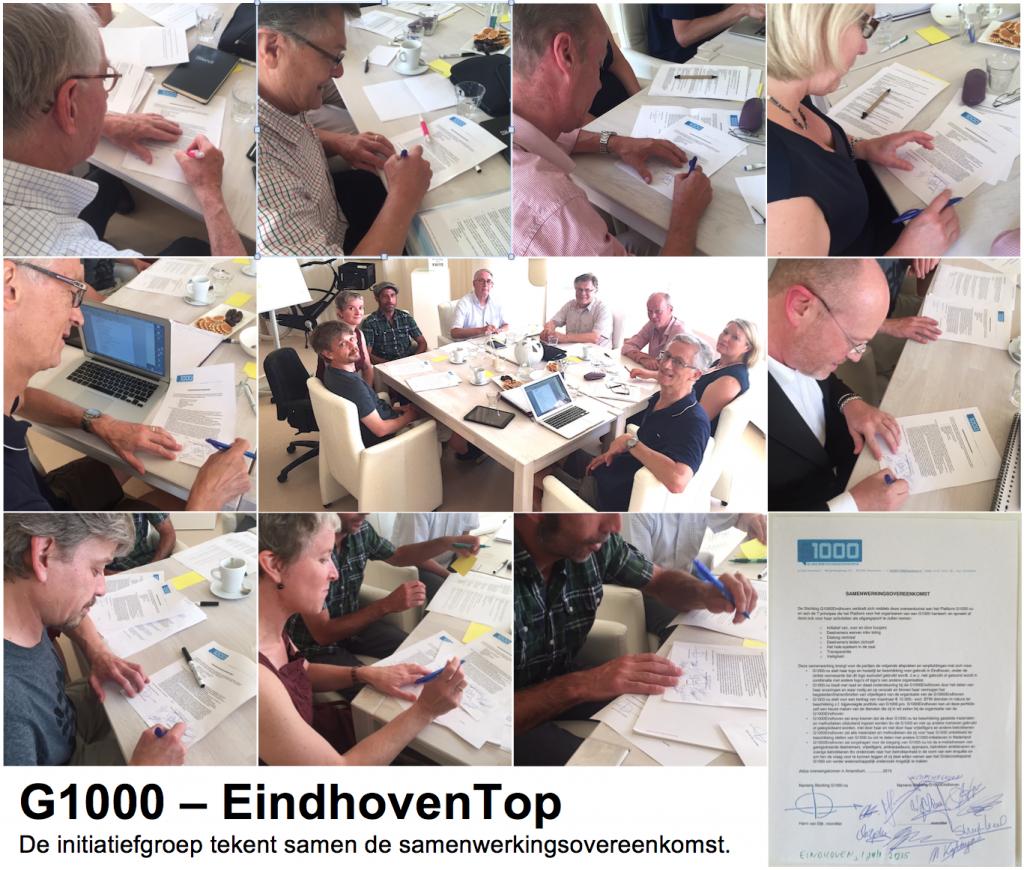 2015-07-01, G1000 - EindhovenTop, tekenen samenwerkingsovereenkomst