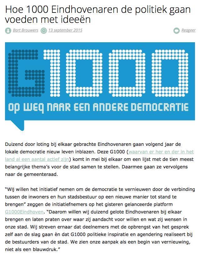 G1000EindhovenTOP op e52.nl