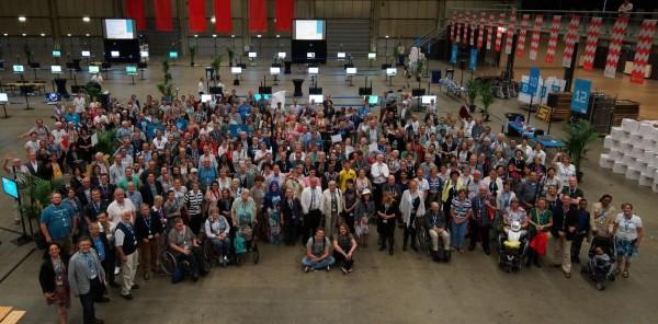 Groepsfoto deelnemers G1000 Eindhoven 2016